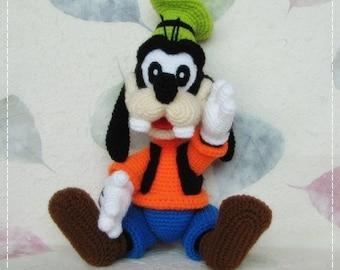 Goofy 12 inches - PDF amigurumi crochet pattern