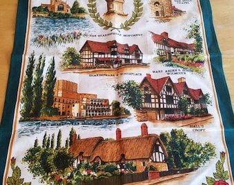 Stratford Upon Avon Shakespeare Monument Wall Hanging Tapestry