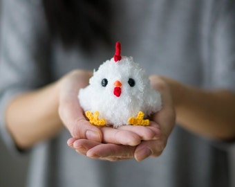 Chinese New Year Rooster Crochet Pattern