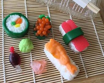 Sushi Soap set NEW
