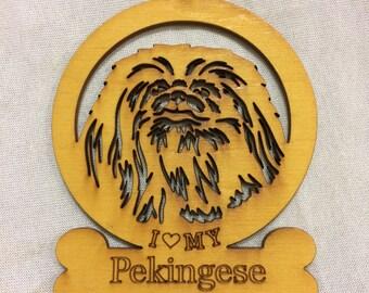 Pekingese Dog Ornament