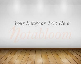 Gallery Wall Mock-Up / Stock Photo / Art Stock Image / Interior Room