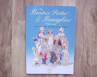 1995 Beatrix Potter & Bunnykins Price Guide, Vintage Collectible English Ceramic Figurine Information on Rarities and Backstamps