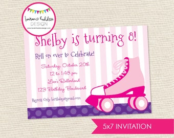 DIY, Rollerskating Party INVITATION ONLY