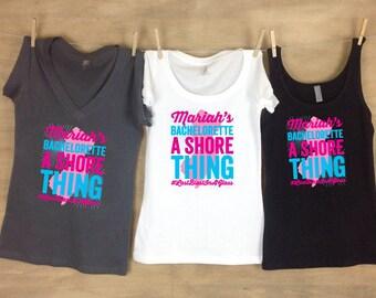 A Shore Thing - New Jersey Bachelorette Shirts