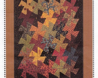 SALE!! Primitive Pinwheels Quit Pattern by Primitive Gatherings (with tool)