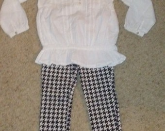 Leggings and Top - Size 4