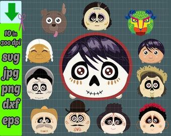 Coco Svg Coco Skull Svg Coco Pixar Svg Coco Disney Svg