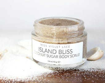 Coconut Body Scrub   Sugar Body Scrub   100% Natural & Vegan Body Scrub