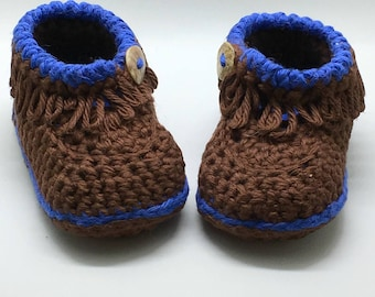 Crochet baby booties,Baby Moccasins