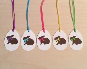 Easter Gift Tags/ Bunny Gift Tags/ Treat Tags