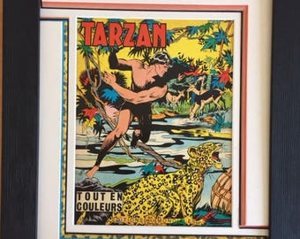 Vintage frame: TARZAN and the Panther