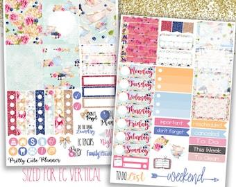 Tea Cup Planner Stickers - Weekly Planner Sticker Set - Fits Erin Condren Life Planner - Happy Planner - Functional stickers - Tea Party
