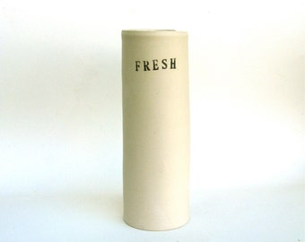 fresh  ...  hand built porcelain vessel