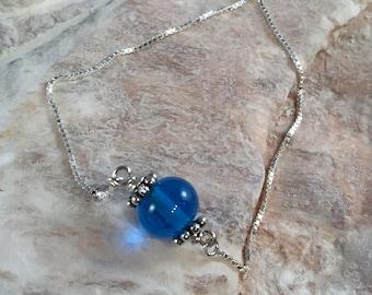 Ocean Blue Slide Bracelet