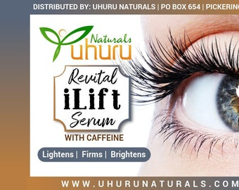 Caffeine, Coconut Fruit Juice, Japanese Green Tea  Leaf Ferment Filtrate and Fruit Extracts  Eye Lift Serum