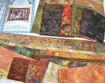 Rohrkolben Art Quilt-Muster-Kit