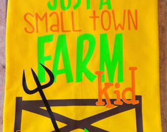 Farm kid shirt