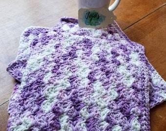 Kitchen dishcloths, crochet dishcloths, handmade washcloths,