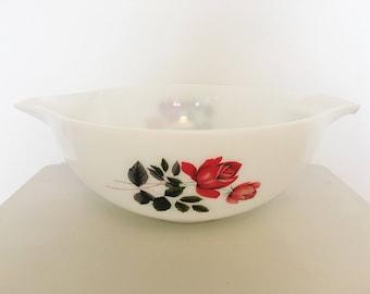 JAJ Pyrex June Rose mixing bowl
