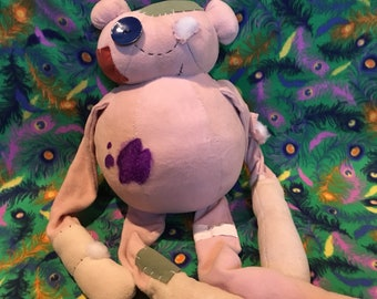 Adventure Time inspired jumbo Wastland Hambo plush