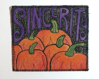 Sincerity as Far as the Eye Can See! (The Great Pumpkin)