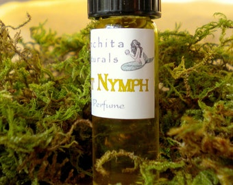 Forest Nymph Natural Perfume with Cypress and Sandalwood - 3mL Glass Vial in Gift Box