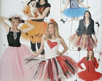 Misses Tutu Pattern - Dog Tutu Pattern - No Sew Pattern - Halloween Pattern - Costume Pattern - Skirt Sewing Pattern - New - Uncut