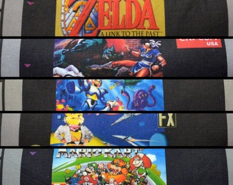 90's Retro Video Gaming Cartridge Pillow - Game Label - Made to Order