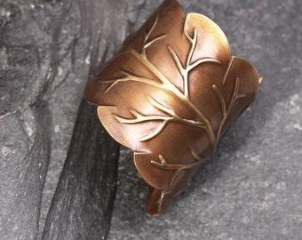 Leaf Ring Nature Inspired Ring Woodland Ring Leaf Ring For Women Ring Leaf