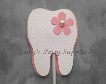 Baby's First Tooth Cake Toppers, 1st Tooth Cake Decoration, First Molar Cake Topper