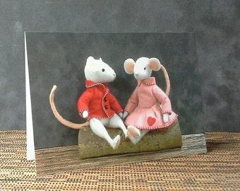 Valentines card - Thornton and Rosie
