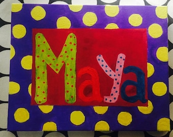 Baby Name board