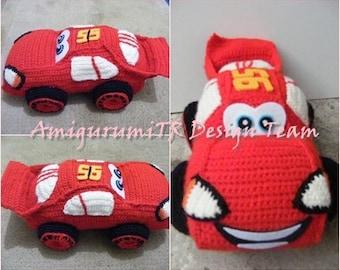 Amigurumi Patterns Cars : Amigurumi car etsy