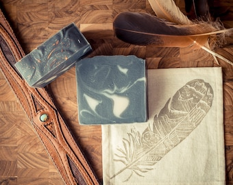 Old West Men's Soap - Handcrafted, Vegan, and 97% Natural