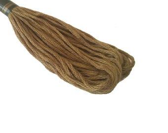 1 skein 8 m Mercerized cotton FLOSS - bronze 220