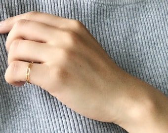 Lace Ring (14KGF)