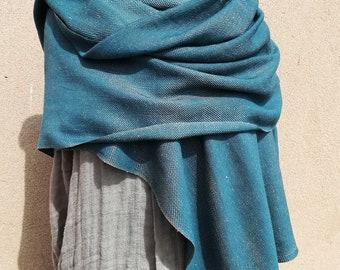 Linen cashmere scarf