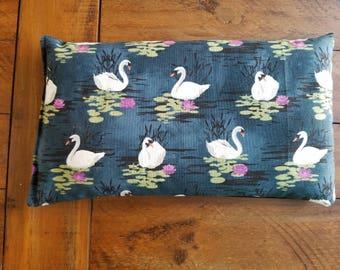 Swans Dream Pillow,