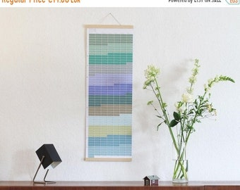 ON SALE Wall calendar 2018 Wallplanner 2018 Planner pastel aqua turquoise nature 2018 English-German printed on both sides