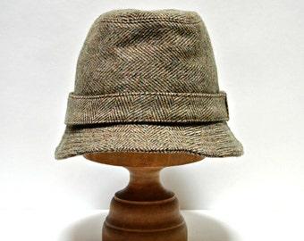Men's Wool Hat  - Irish Walking Hat - Choose Your Own Wool