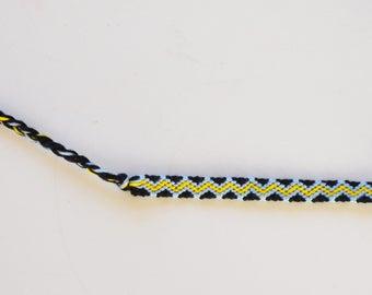 Friendship bracelet manolo pattern