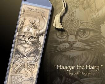 Cat bookmark // Viking cat bookmark // Viking bookmark // Nordic bookmark // Vikings