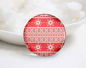 10mm 12mm 14mm 16mm 18mm 20mm 25mm 30mm Handmade Round Photo Glass Cabs Cover-Christmas (P2129)