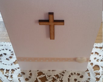 Christening, Confirmation, First Communion or Easter Card