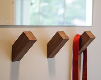 WALLNUTS™ - Modern Wall Hooks Handmade from Beautiful Hardwoods.