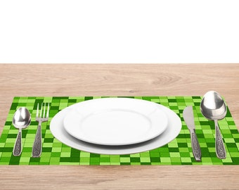 """Birthday Party Theme Paper Placemats 