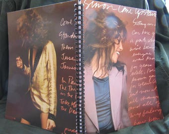 """Carly Simon """"Come Upstairs"""" Album Cover Notebook"""