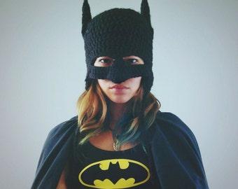 Batman Inspired Beanie Mask