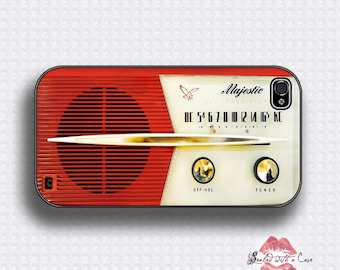 Vintage Majestic Radio - iPhone 4/4S 5/5S/5C/6/6+ and now iPhone 7 cases!! And Samsung Galaxy S3/S4/S5/S6/S7